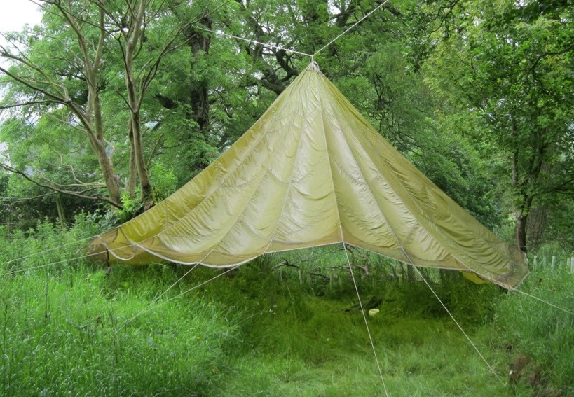 This is the result ... & Parachute tent | Richard Whittle__PlaypitsPark